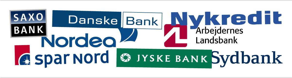 billigste banker i Danmark